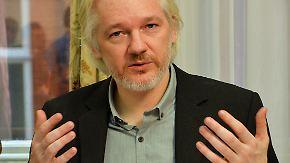 """Pressekonferenz in London: Assange will Botschaft von Ecuador """"bald verlassen"""""""