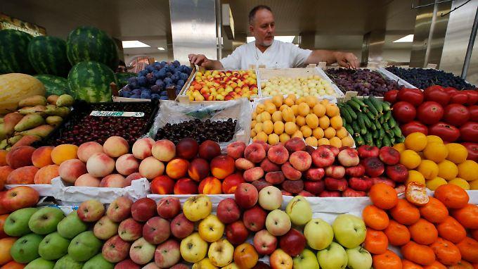 Einfuhrstop: In Russland dürfen künftig keine Agrarprodukte aus der EU, den USA und weiteren westlichen Ländern verkauft werden.