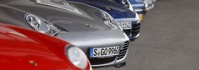 Auf Platz zwei: der Porsche 911