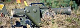 Milane für die Kurden: Rakete am Draht