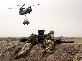 Die Bundeswehr wird wahrscheinlich panzerbrechende Waffen des Typs Milan in den Irak schicken.