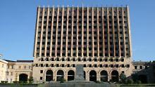 Hier zieht bald eine neuer Präsident ein: Das Parlamentsgebäude in der abchasischen Hauptstadt Suchumi.