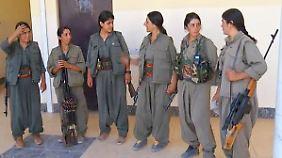 Video: IS-Kämpfer fürchten diese Frauen