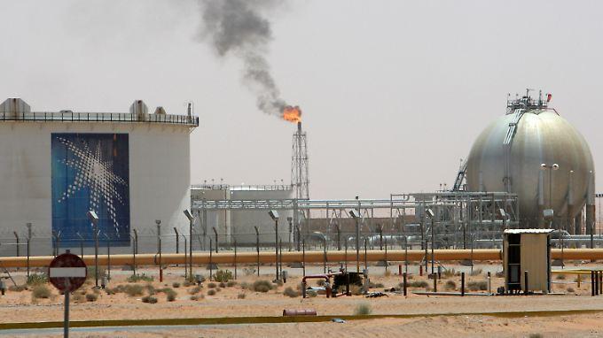 Das Khurais-Ölfeld nahe Saudi-Arabiens Hauptstadt Riad ist eines der jüngsten Großprojekte von Saudi Aramco.