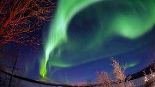 Mystisches Leuchten: Polarlichter