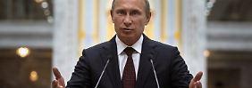Krisengipfel zum Ukraine-Konflikt: Putin zieht sich aus der Verantwortung