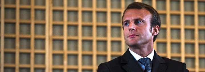 Ex-Banker Macron soll es richten: Um Frankreichs Wirtschaft ist es schlecht bestellt