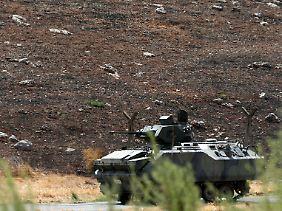 Ankara hat seine Grenzkontrollen wie hier bei Hatay verschärft. Doch Islamisten finden noch immer Wege, um von einem Land ins andere zu spazieren.