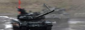 Kiew meldet Eroberung Nowoasowsks: Poroschenko: Russische Invasion hat begonnen
