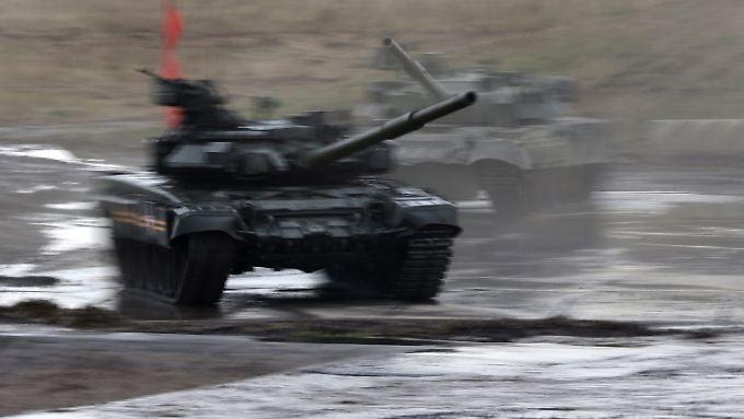 Seit Tagen gibt es Gerüchte, dass das russische Militär in ukrainisches Gebiet vorrückt.