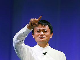 Alibaba-Chef Jack Ma.