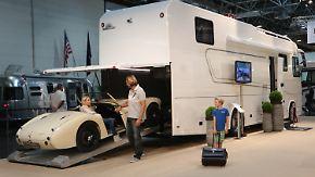 Wohnmobile preiswert bis luxuriös: Caravan-Salon lädt zum Probesitzen ein