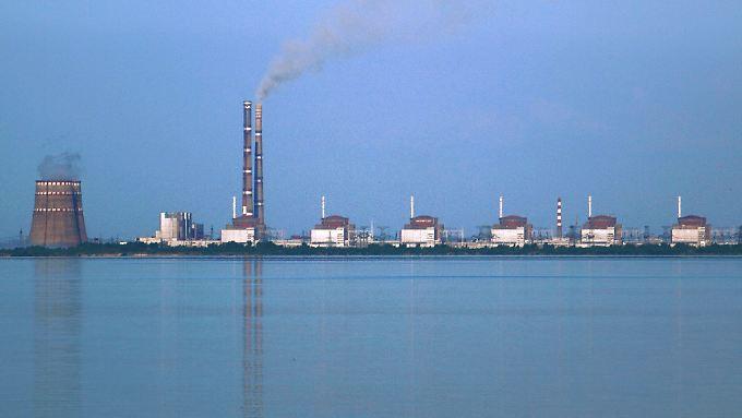 Das Kraftwerk Saporischschja ist das leistungsstärkste Kernkraftwerk Europas.