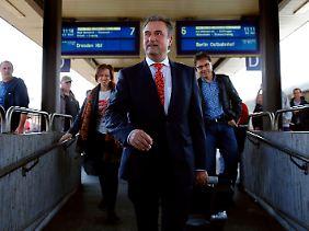 Claus Weselsky sieht sich Rücktrittsforderungen ausgesetzt.