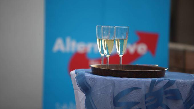 Die AfD holte in Sachsen fast 10 Prozent der abgegebenen Stimmen.