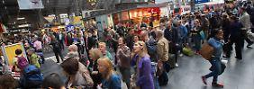 GdL spannt die Muskeln: Lokführer-Ausstand lähmt Bahnverkehr