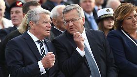 Alte Kriege, neue Ängste: Gauck übt scharfe Kritik an Russland