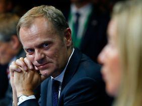 Donald Tusk ist das neue Gesicht der Europäischen Union.