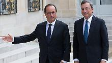 Vor dem Zinsentscheid: Euro blickt in die Tiefe