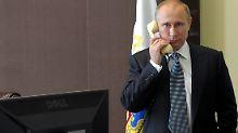 """""""Aus dem Zusammenhang gerissen"""": Kreml will Putin-Telefonat veröffentlichen"""