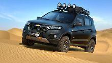 Chevrolet zeigt in Moskau, wie der kommende Niva aussehen wird.