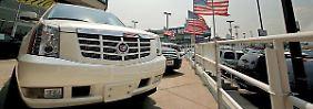 SUV-Hersteller jubeln: Boom am US-Pkw-Markt hält an
