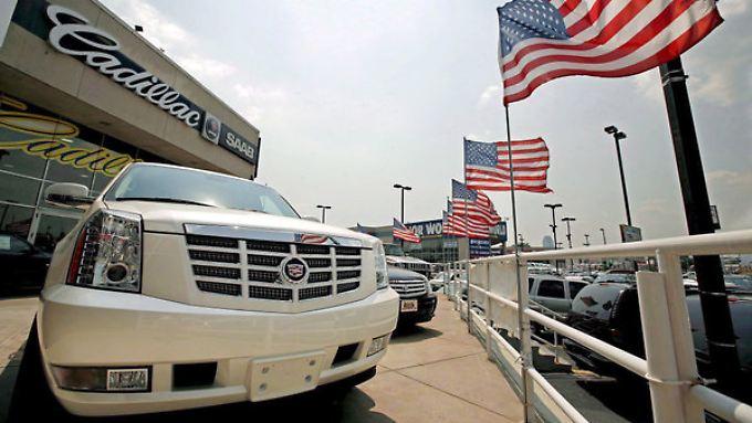 Die Amerikaner kaufen wieder dicke Wagen. Aber können sie sie auch bezahlen?