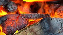 Laut einer Studie geben Ethanol-Kamine schädliche Emissionen an die Raumluft ab. Auch könne sich die mit Ethanol gemischte Luft schnell entzünden. Foto: Ursula Düren