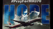 Ein Jahr nach Verschwinden des Fluges MH370 …