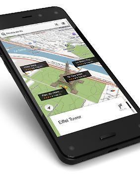 Das Fire Phone soll in Deutschland ein Erfolg werden - hofft Amazon.