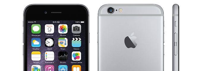 iPhone 6 hat Designprobleme: Huawei-Chef zieht gerne das Kürzere