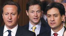 """Gelingt der Stimmungswechsel?: """"Team Westminster"""" appelliert an Schotten"""