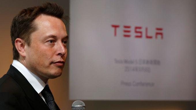 Elektroauto-Pionier und Self-Made-Milliardär Elon Musk.