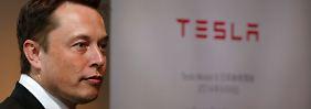 """Botschaft mit """"D"""": Elon Musk twittert neues Tesla-Modell"""
