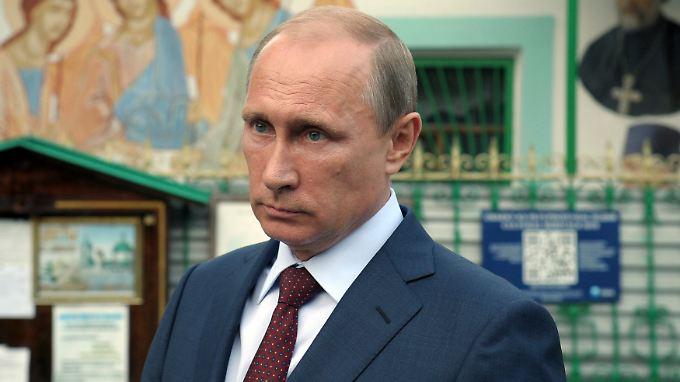 Die Sanktionen sind eine Reaktion auf Putins Ukraine-Politik.