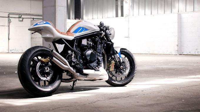 Die Designer Daniel Händler und Hans A. Muth haben aus der Suzuki Bandit die FatMile gezaubert.