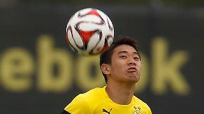 Der BVB und seine Verletzten: Shinji Kagawa sorgt für Schrecksekunde
