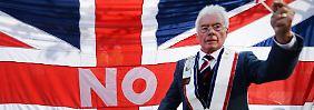 Referendum mit ungewissem Ausgang: Tauziehen um Schottland geht in die entscheidende Phase
