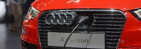 Zeit für E-Auto noch nicht gekommen: Audi und Daimler setzen auf Stecker-Autos