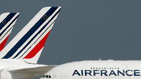 Sinnbild für Frankreichs Probleme: Piloten der Air France bleiben am Boden