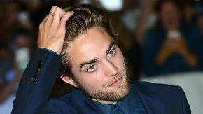 Promi-News des Tages: Tollpatsch Robert Pattinson will kellnern