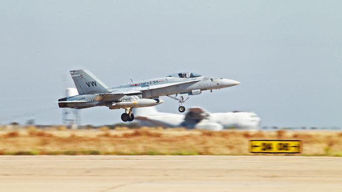 Es ist der erste Luftschlag der USA gegen den IS.