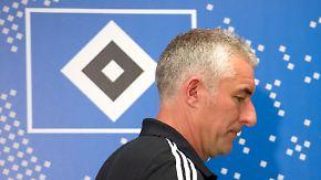 Fans wollen Tuchel: HSV trennt sich von Trainer Slomka