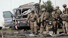Attentat im Herzen Kabuls: Taliban-Kämpfer tötet drei Isaf-Soldaten