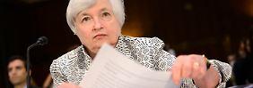 Griff in die Speichen: Yellen will keinen starken Dollar