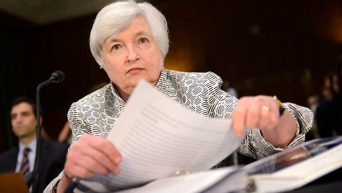 Klare Ansichten, die dem Markt nicht immer gefallen: Janet Yellen.