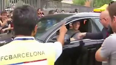 Kurioses aus dem Sport: Barca-Profi versucht Auto zu fahren