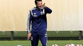 Neuer Trainer, neues Glück?: HSV-Coach Zinnbauer macht die Bayern nervös