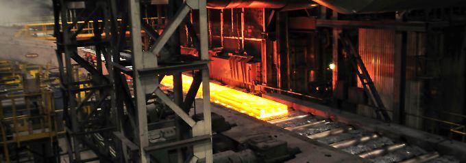 Ein heißes Eisen: Das Stahlgeschäft ist international eng verflochten.