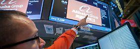 25 Milliarden Dollar eingesammelt: Alibaba landet mit einem Riesensatz an der Börse